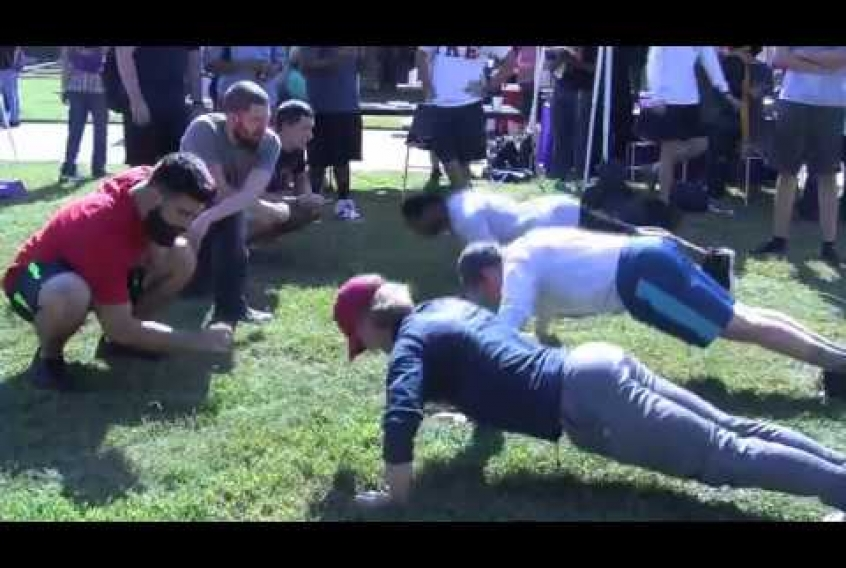 Embedded thumbnail for Push-Up Challenge